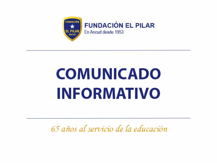 Comunicado Liceo El Pilar