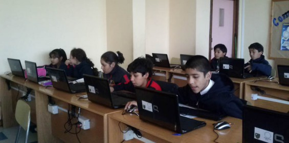 Alumnos en Taller de Computación